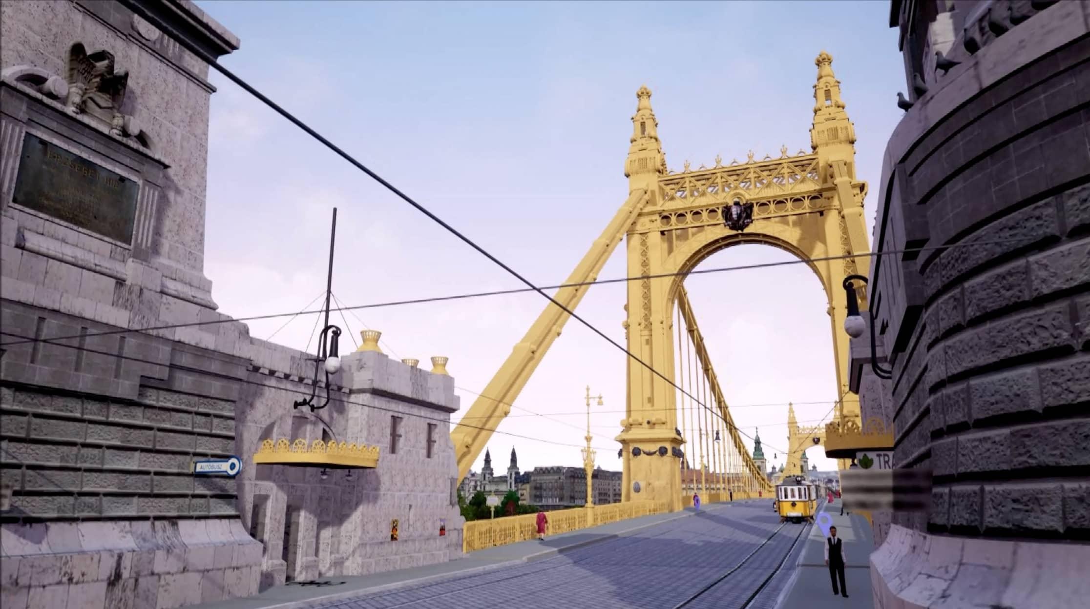 Így nézett ki az Erzsébet-híd
