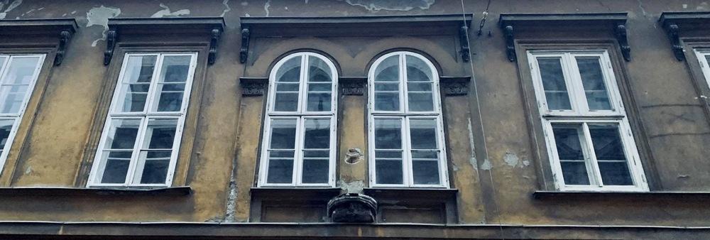 Kéményseprő ház szobor