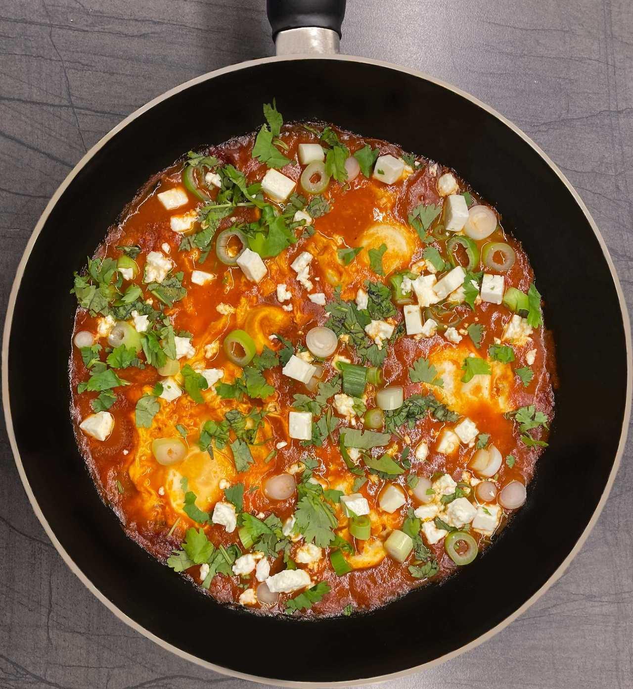 Shaksuka recept
